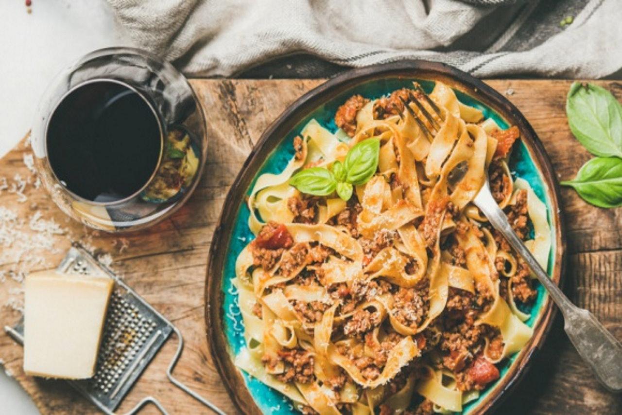 Pasta i wino – duet idealny!